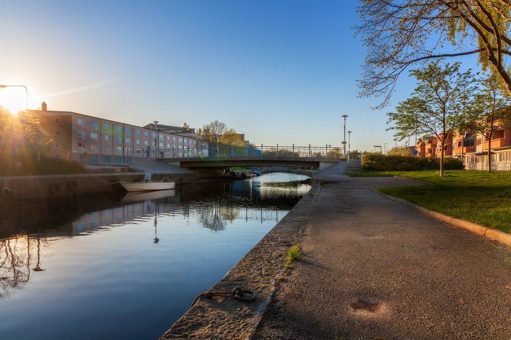 Mieån i Karlshamn - Vattnet som delar staden - Ludwig Sörmlind