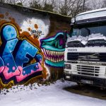 Snösätragränd Graffiti - Ludwig Sörmlind