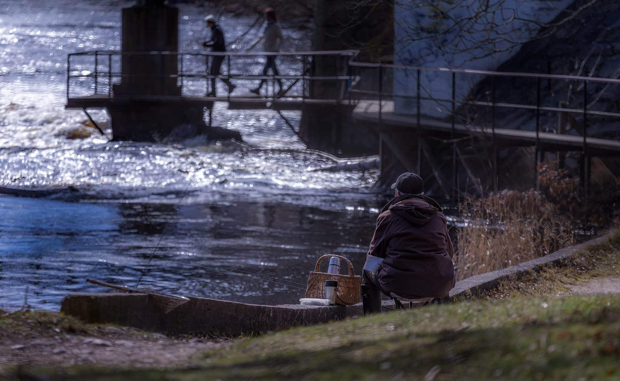 Fiskepremiär Mörrumsån 2016.