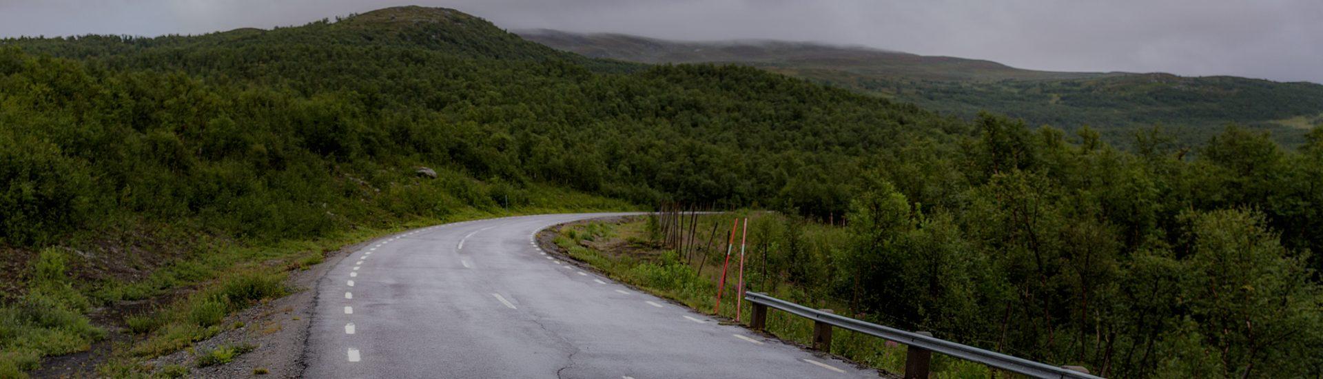 Roadtrip med husbil på Vildmarksvägen - Ludwig Sörmlind