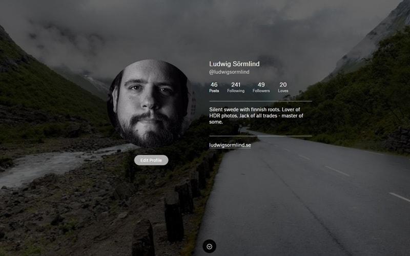 Dela bilder på nätet - De 5 bästa bilddelninssajterna Ello - Ludwig Sörmlind