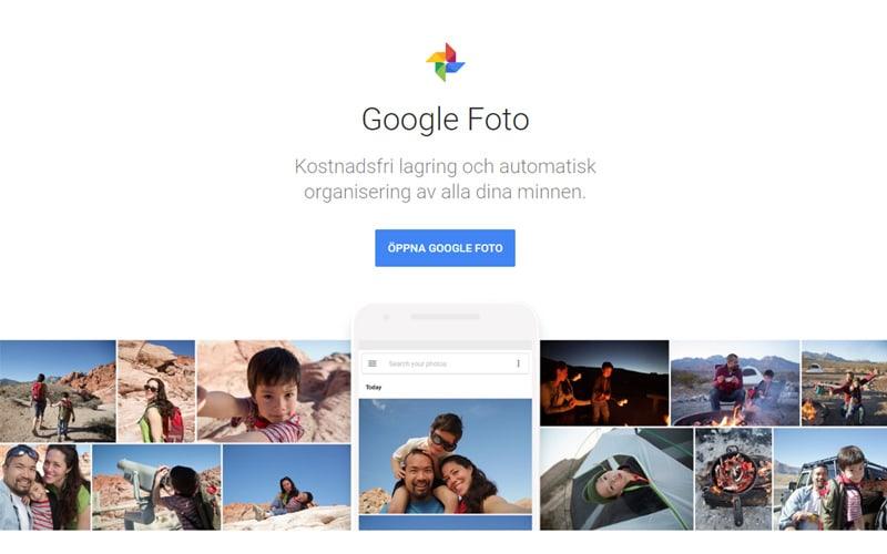 Dela bilder på nätet - De 5 bästa bilddelninssajterna Google Foto - Ludwig Sörmlind