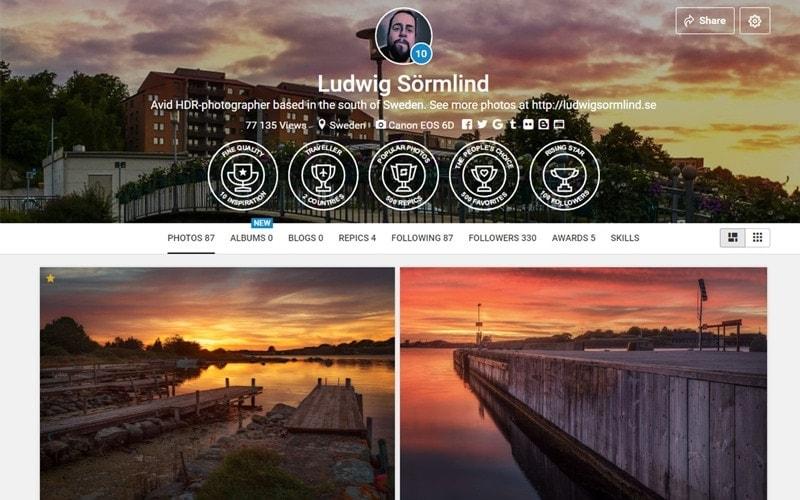 Dela bilder på nätet - De 5 bästa bilddelninssajterna YouPic - Ludwig Sörmlind