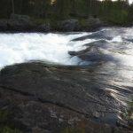 Trollforsens skummande vatten - Ludwig Sörmlind