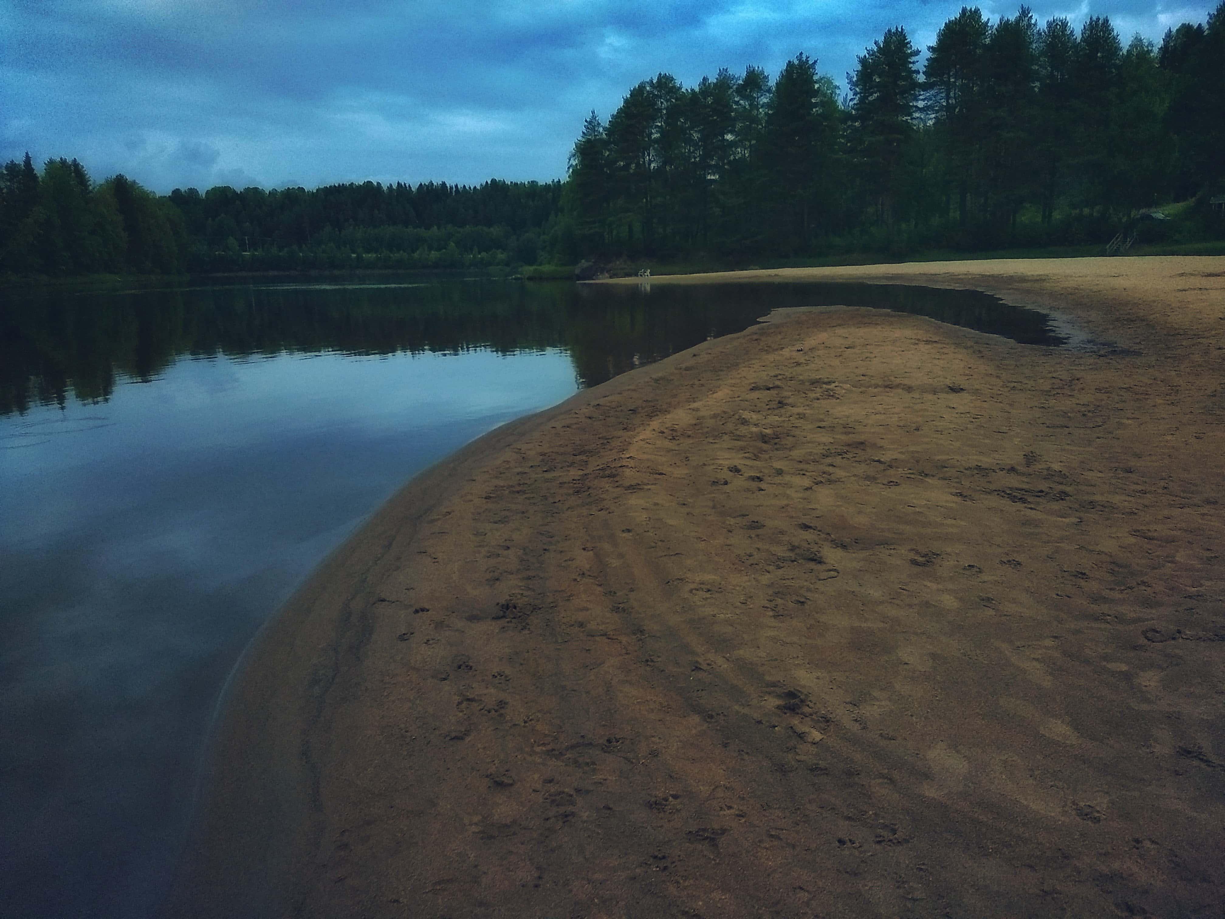 Sandstranden vid Kärleksudden - Ludwig Sörmlind