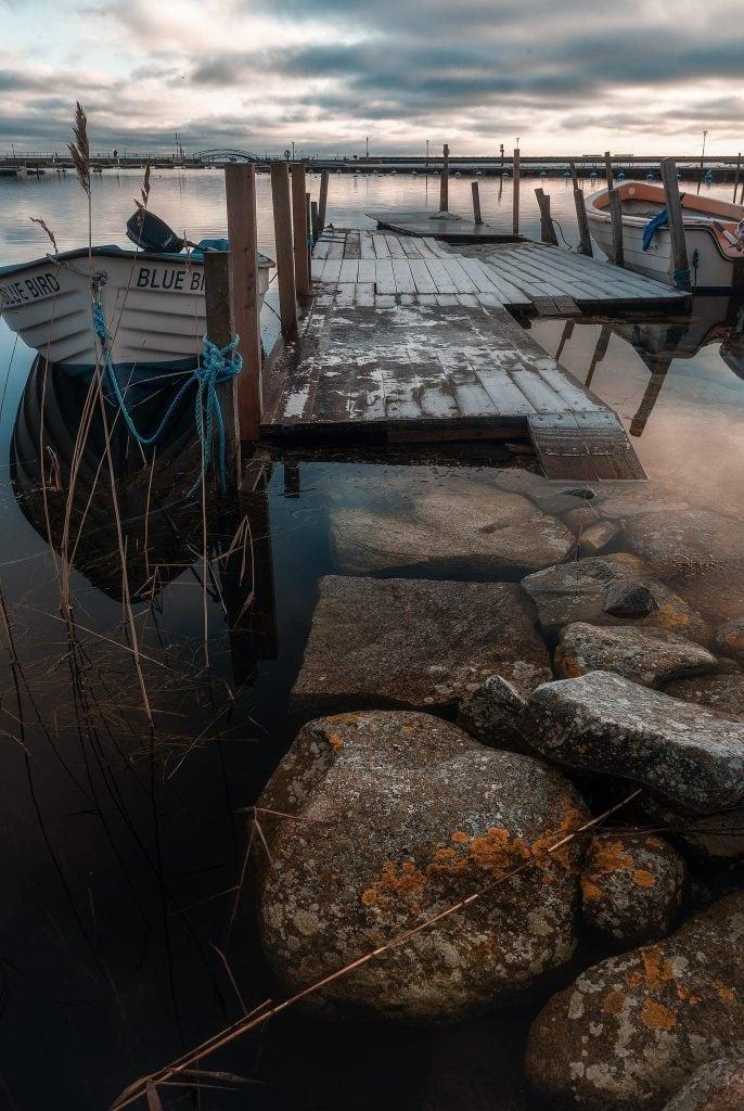 Vatten utan reflektioner i Hällevik - Ludwig Sörmlind