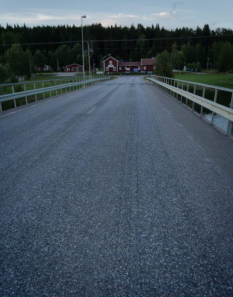 Bron över Ljusnan vid Älvros - Ludwig Sörmlind