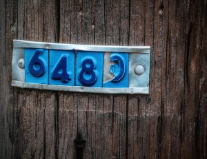 Nummer på elstolpe - Ludwig Sörmlind