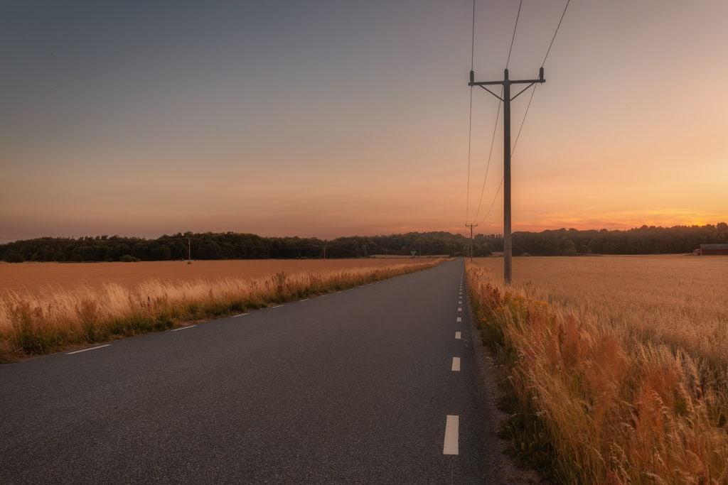 Torka i Blekinge längs med Perstorpsvägen - Ludwig Sörmlind